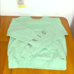PINK Mint Green Pullover